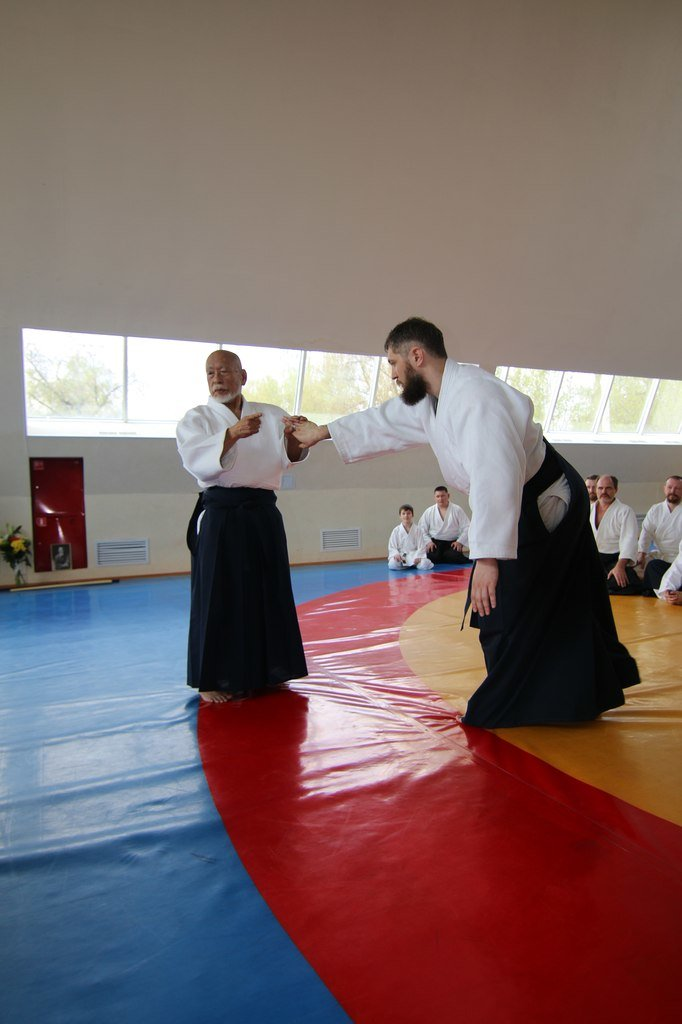 В ФОК «Фокус» Домодедово прошёл семинар Ватанабе Сенсея, ученика основателя Айкидо (фото) - фото 2
