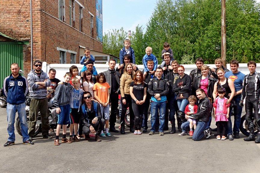 Байкеры покатали на мотоциклах ребятишек из Центра адаптации несовершеннолетних, фото-7
