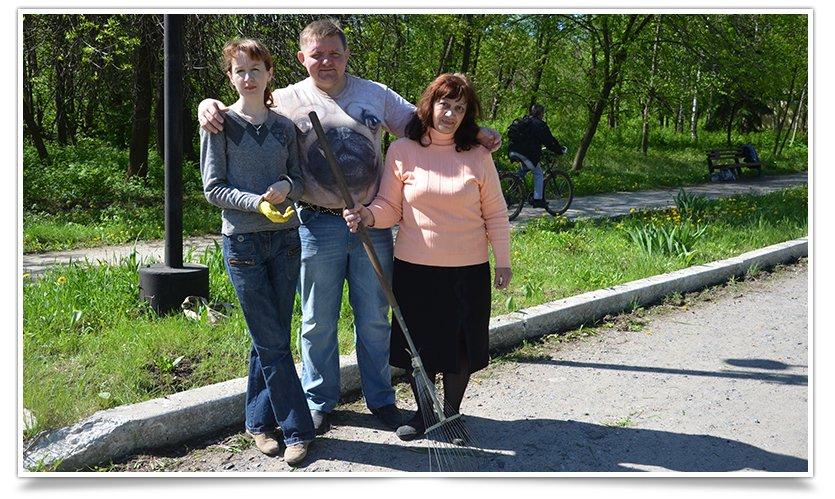 Работники культуры Славянска сегодня вышли на субботник (фото) - фото 3