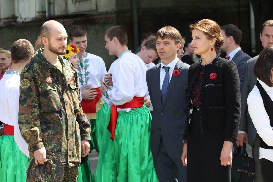 В Днепропетровске Первая леди Украины встретилась с ветеранами и участниками АТО (фото) - фото 6
