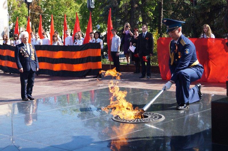 В Белгороде на Соборной площади зажгли вечный огонь (фото) - фото 5