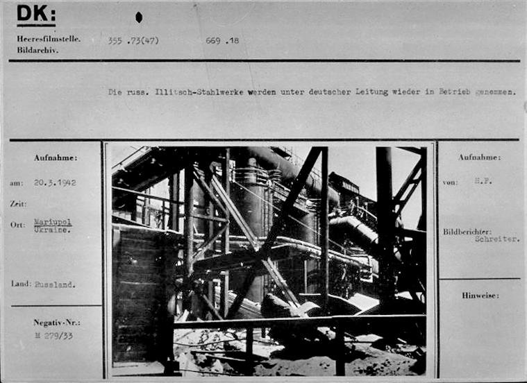 Промышленность Мариуполя в годы Второй мировой: заводы таки выплавляли сталь, появился частный бизнес, а землю отдали крестьянам, фото-7