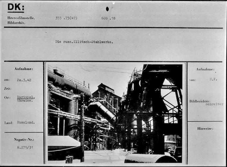 Промышленность Мариуполя в годы Второй мировой: заводы таки выплавляли сталь, появился частный бизнес, а землю отдали крестьянам, фото-10