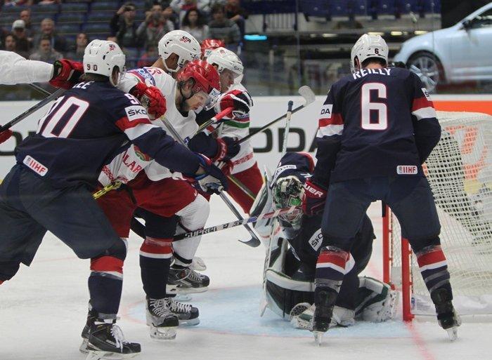 Гродненцы Гаврус и Лисовец помогли сборной Беларуси по хоккею впервые в истории обыграть США (фото) - фото 3