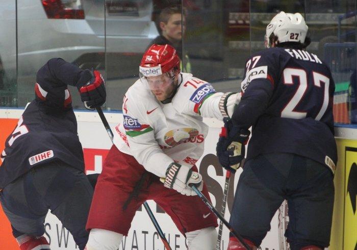 Гродненцы Гаврус и Лисовец помогли сборной Беларуси по хоккею впервые в истории обыграть США (фото) - фото 4
