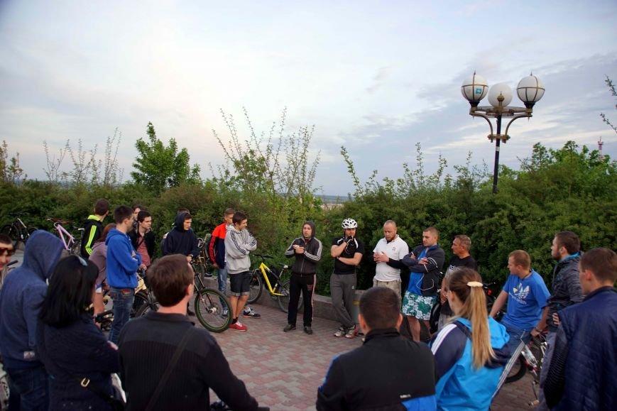 Велосипедисти Полтави обговорили питання патрулювання міста (ФОТО, ВІДЕО) (фото) - фото 1
