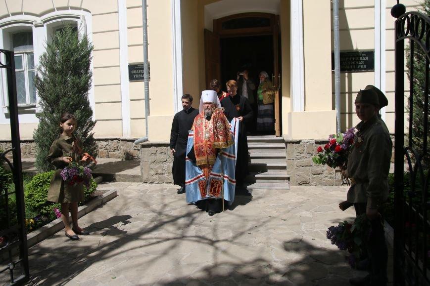 В Симферополе ветераны вместе с митрополитом Лазарем помолились о воинах, павших в годы войны (ФОТО), фото-5