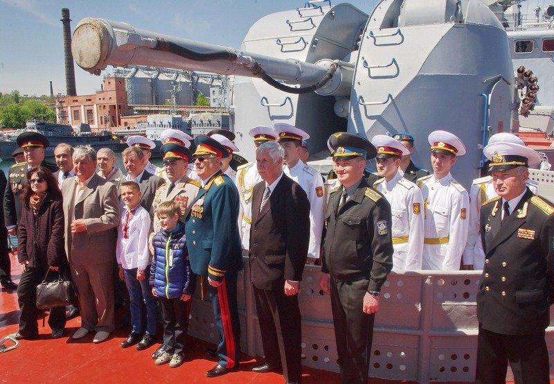 В Одессе ветераны почтили память моряков, погибших в АТО (ФОТО) (фото) - фото 1