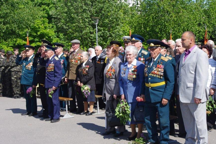 7 мая в Автозаводском районе Кременчуга состоялся митинг по случаю 70-й годовщины победы во Второй мировой войне, фото-6
