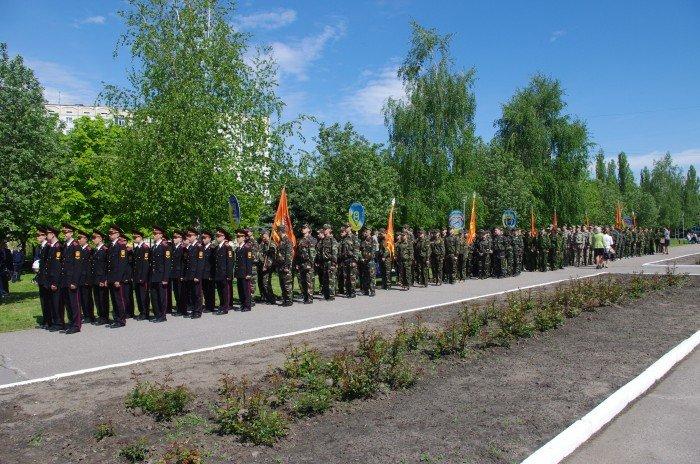 7 мая в Автозаводском районе Кременчуга состоялся митинг по случаю 70-й годовщины победы во Второй мировой войне, фото-2