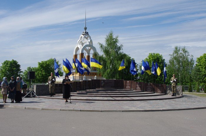 7 мая в Автозаводском районе Кременчуга состоялся митинг по случаю 70-й годовщины победы во Второй мировой войне, фото-7