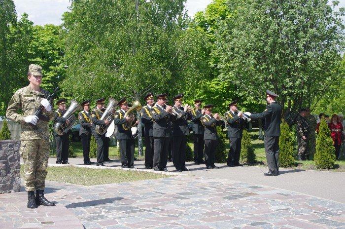 7 мая в Автозаводском районе Кременчуга состоялся митинг по случаю 70-й годовщины победы во Второй мировой войне, фото-3