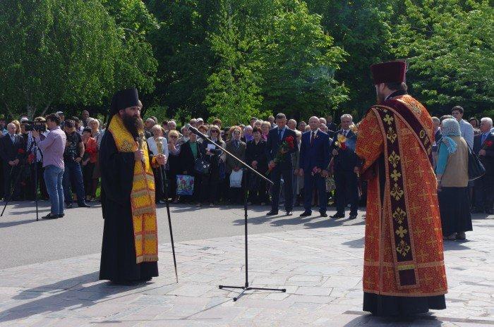 7 мая в Автозаводском районе Кременчуга состоялся митинг по случаю 70-й годовщины победы во Второй мировой войне, фото-1
