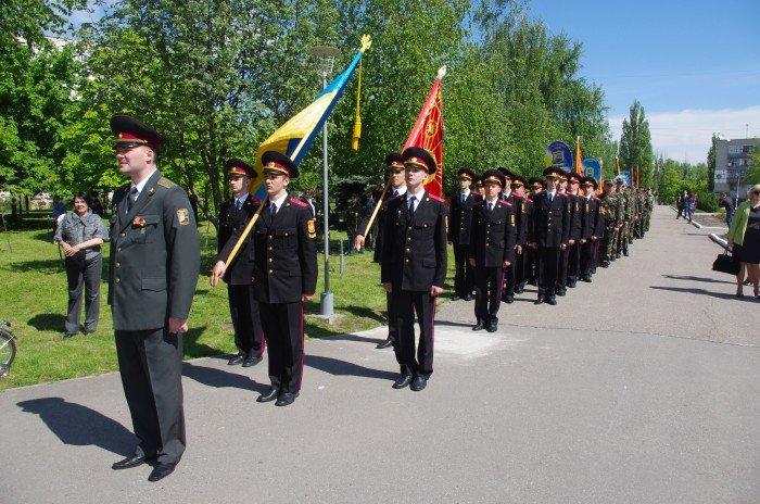 7 мая в Автозаводском районе Кременчуга состоялся митинг по случаю 70-й годовщины победы во Второй мировой войне, фото-5