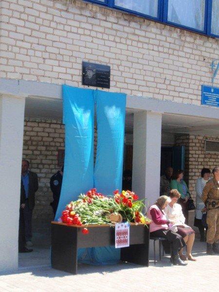 В Володарском районе установили мемориальную табличку в честь Виктора Саенко (ФОТО), фото-2