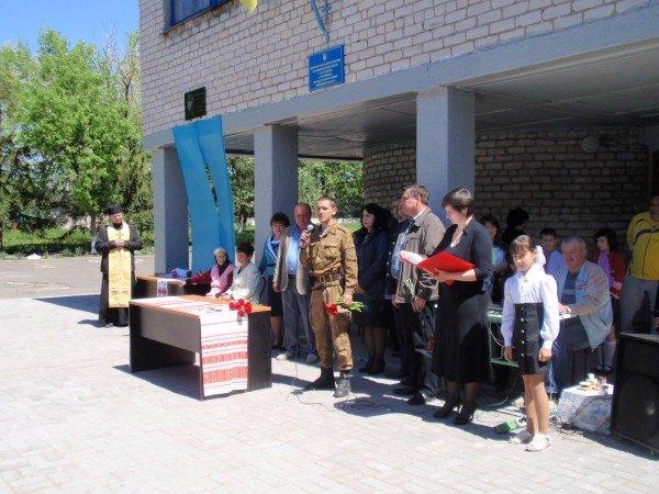 В Володарском районе установили мемориальную табличку в честь Виктора Саенко (ФОТО), фото-3