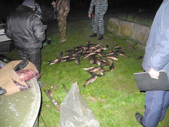За сутки милиция Полтавщины изъяла 300 кг незаконной рыбы (ФОТО) (фото) - фото 1