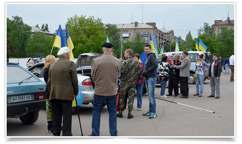 В Славянске стартовал автопробег до Констаниновки (фото) - фото 6