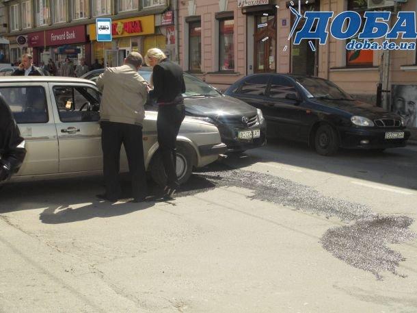 В центрі Тернополя сталася ДТП (фото) (фото) - фото 1