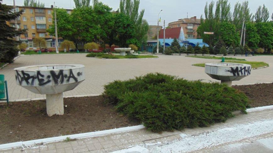 Перед праздником в Мариуполе растет количество расписанных фонтанов (ФОТОФАКТ) (фото) - фото 1