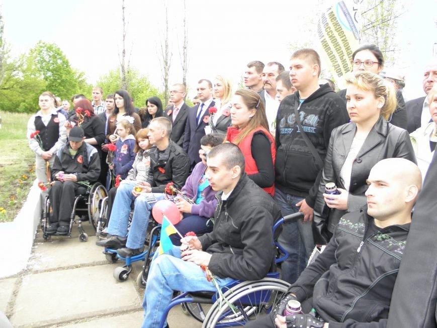 В Краматорске на Меловой горе почтили память жертв фашизма (фото) - фото 3