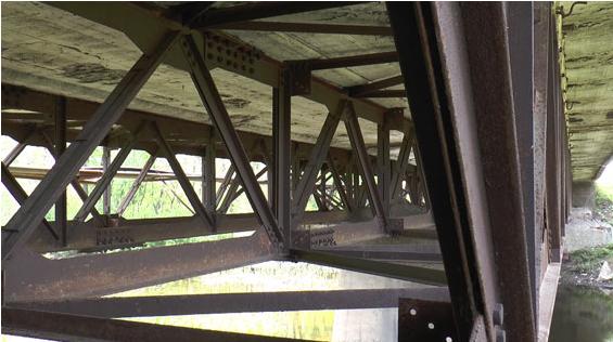 На Сумщине наркоман пытался разобрать мост на металлолом (ФОТО) (фото) - фото 1