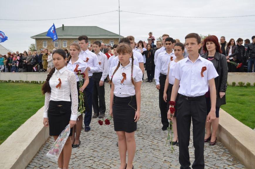 Под Симферополем открыли мемориал на месте бывшего концлагеря (ФОТОРЕПОРТАЖ), фото-11