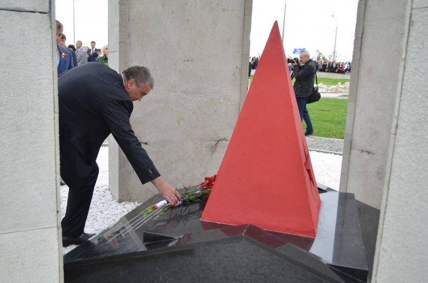 Под Симферополем открыли мемориал на месте бывшего концлагеря (ФОТОРЕПОРТАЖ), фото-12