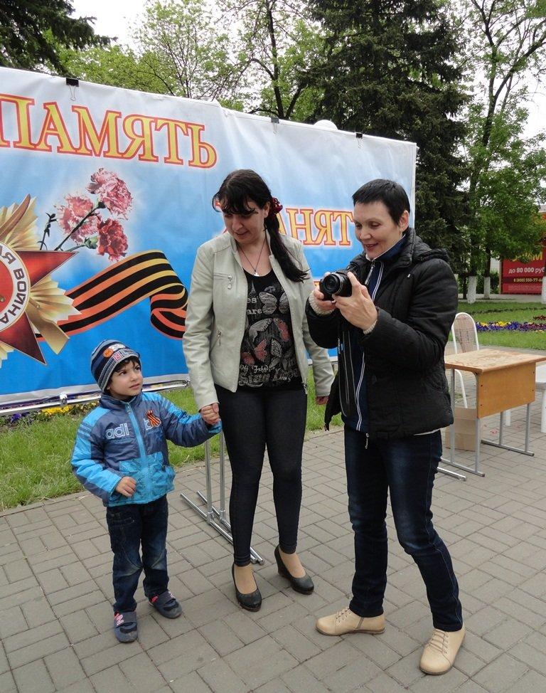 Накануне Дня Победы в Белореченске прошла акция « ПАМЯТЬ ХРАНЯТ ЖИВЫЕ», фото-5