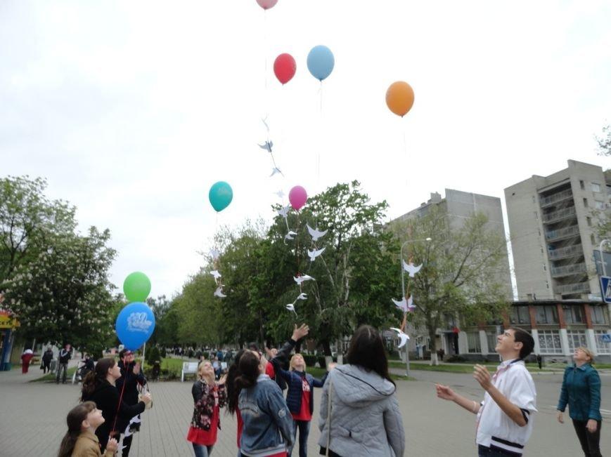 Накануне Дня Победы в Белореченске прошла акция « ПАМЯТЬ ХРАНЯТ ЖИВЫЕ», фото-1