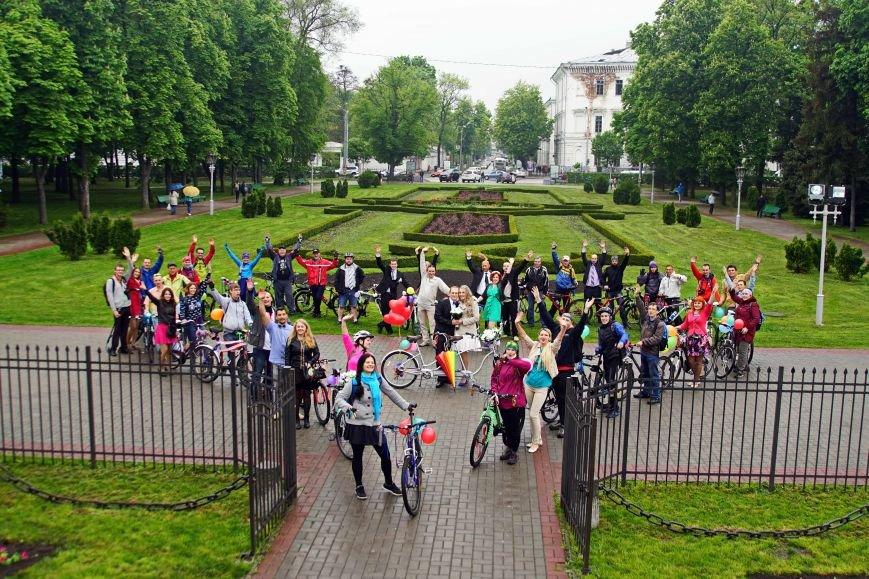У Полтаві відгуляли веловесілля! (фото) - фото 3