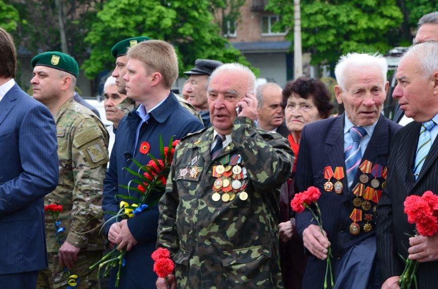 В Мариуполе чествуют ветеранов Второй мировой войны (ФОТОРЕПОРТАЖ), фото-17