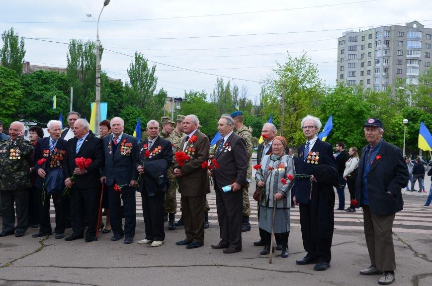 В Мариуполе чествуют ветеранов Второй мировой войны (ФОТОРЕПОРТАЖ), фото-15