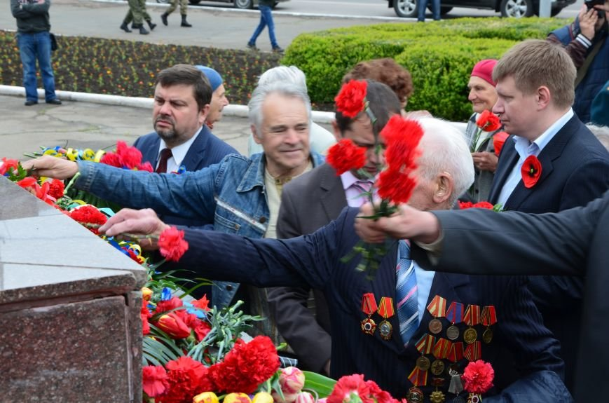 В Мариуполе чествуют ветеранов Второй мировой войны (ФОТОРЕПОРТАЖ), фото-29