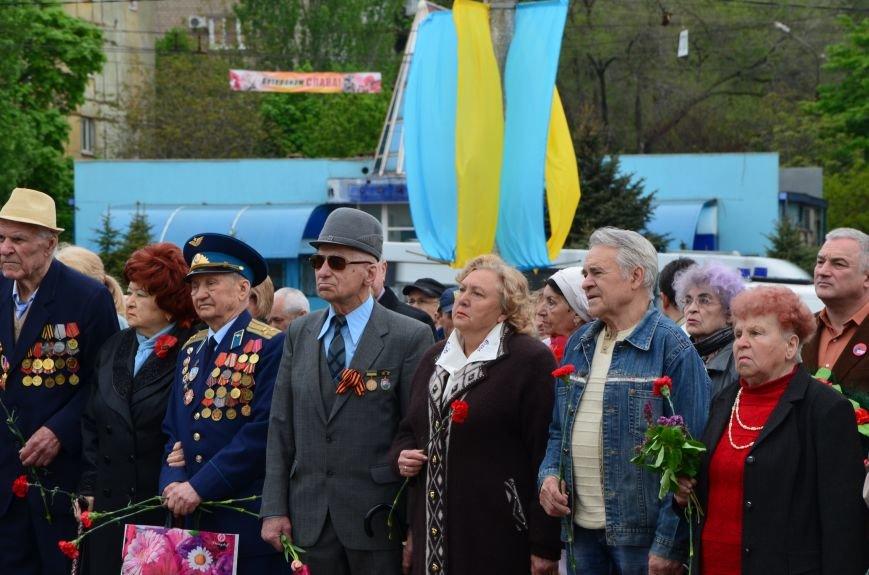 В Мариуполе чествуют ветеранов Второй мировой войны (ФОТОРЕПОРТАЖ), фото-41