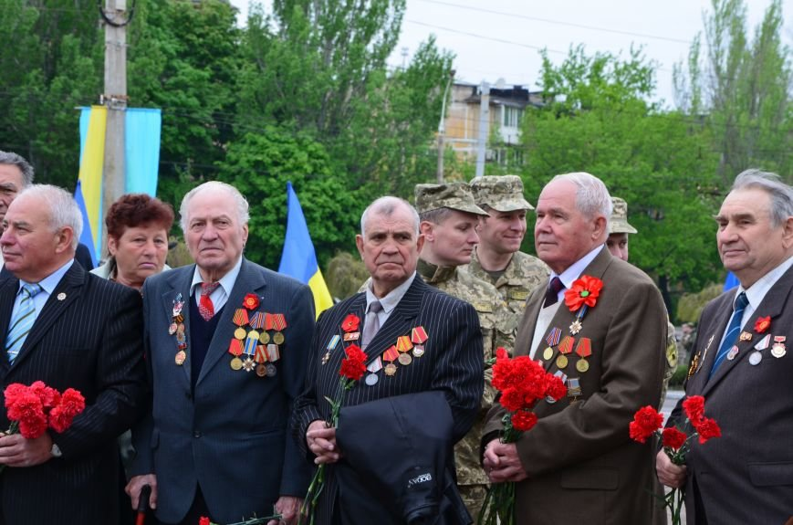 В Мариуполе чествуют ветеранов Второй мировой войны (ФОТОРЕПОРТАЖ), фото-14