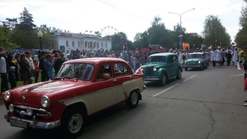 Сегодня в городе состоялся торжественный парад, посвященный юбилею Победы, фото-1