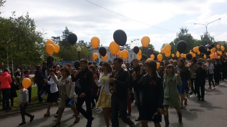 Сегодня в городе состоялся торжественный парад, посвященный юбилею Победы, фото-2