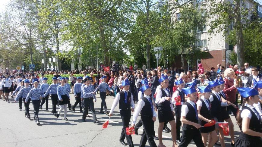 Сегодня в городе состоялся торжественный парад, посвященный юбилею Победы, фото-3