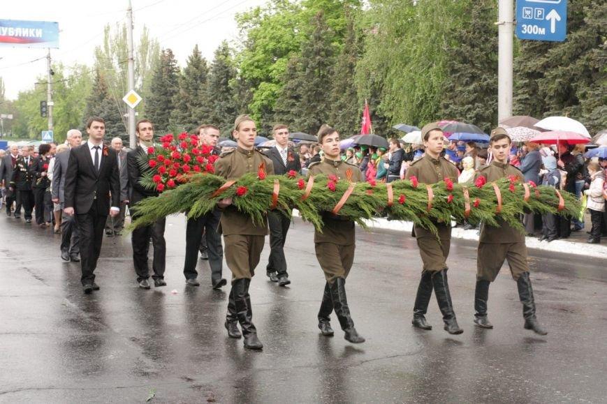 В торжествах ко Дню Победы в Макеевке приняло участие рекордное количество горожан (фото) - фото 3