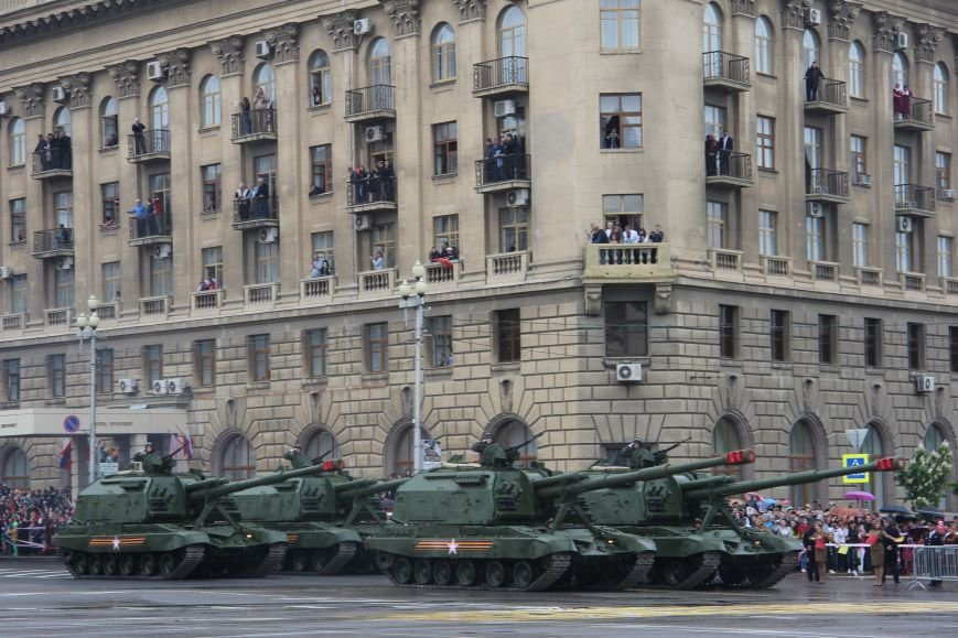 В Волгограде прошел Парад Победы, фото-10