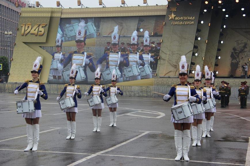 В Волгограде прошел Парад Победы, фото-11