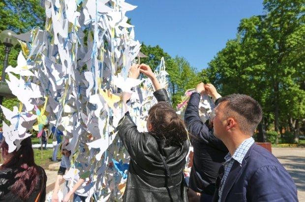 В Киеве создали рекордного голубя мира (ФОТО) (фото) - фото 1