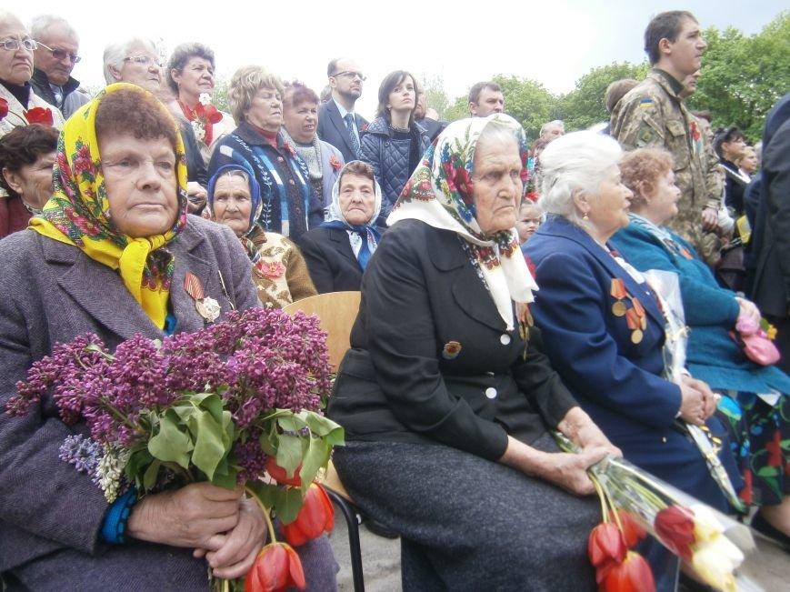 В Димитрове 70-летие Победы отпраздновали митингом, полевой кухней и концертом (ОБНОВЛЕНО) (фото) - фото 60