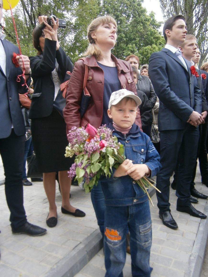 В Димитрове 70-летие Победы отпраздновали митингом, полевой кухней и концертом (ОБНОВЛЕНО) (фото) - фото 42