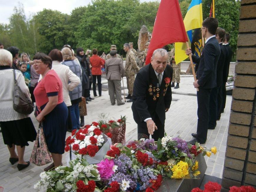 В Димитрове 70-летие Победы отпраздновали митингом, полевой кухней и концертом (ОБНОВЛЕНО) (фото) - фото 95