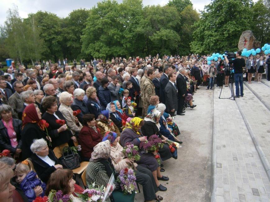 В Димитрове 70-летие Победы отпраздновали митингом, полевой кухней и концертом (ОБНОВЛЕНО) (фото) - фото 63