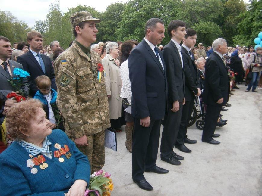 В Димитрове 70-летие Победы отпраздновали митингом, полевой кухней и концертом (ОБНОВЛЕНО) (фото) - фото 47