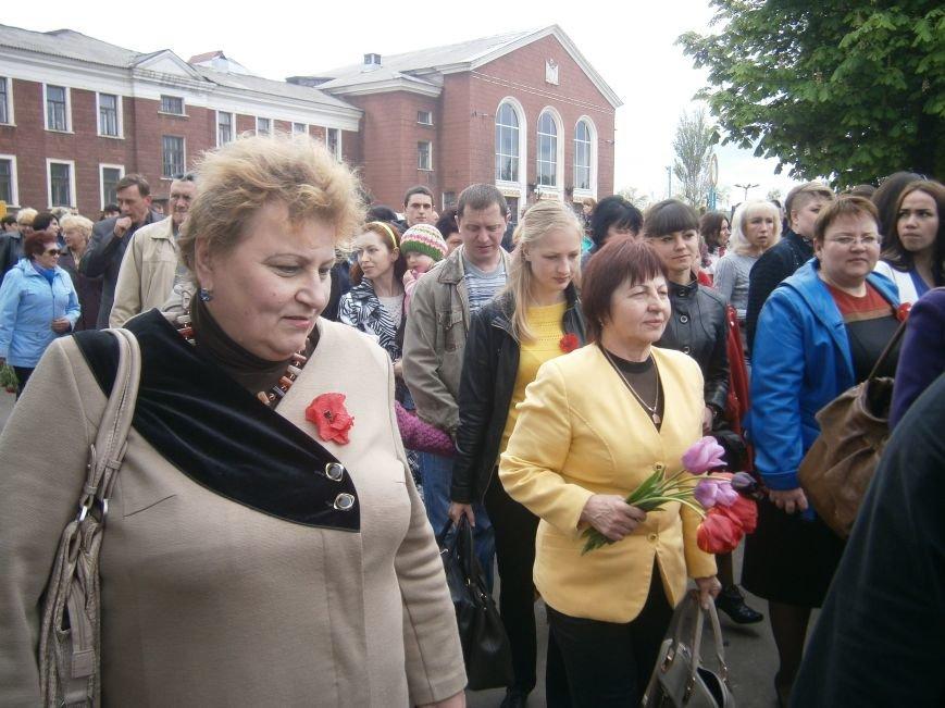 В Димитрове 70-летие Победы отпраздновали митингом, полевой кухней и концертом (ОБНОВЛЕНО) (фото) - фото 14