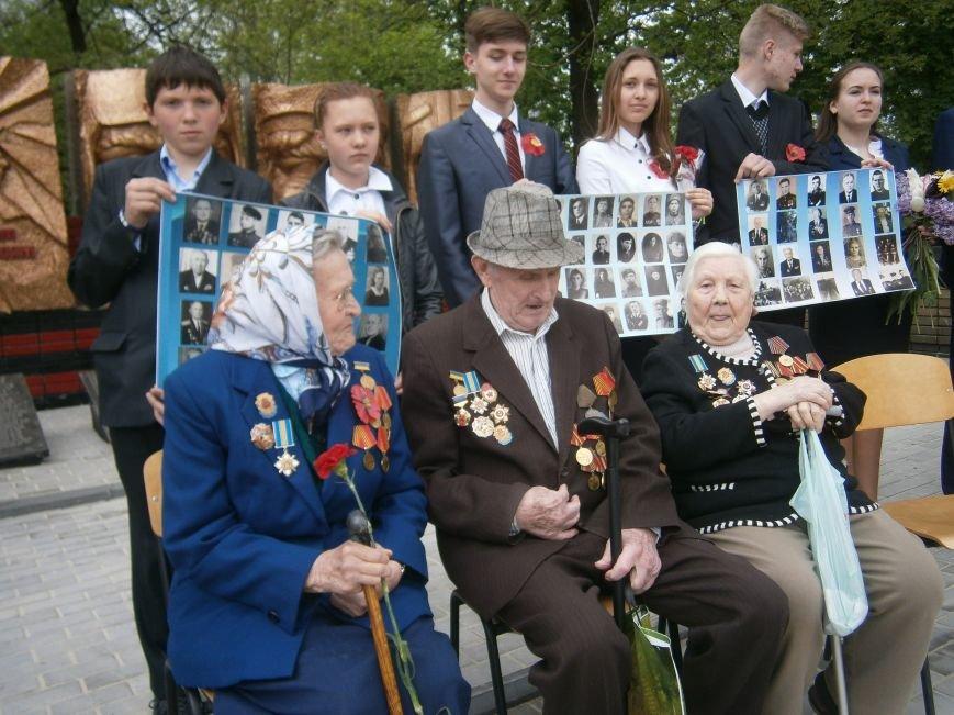 В Димитрове 70-летие Победы отпраздновали митингом, полевой кухней и концертом (ОБНОВЛЕНО) (фото) - фото 32
